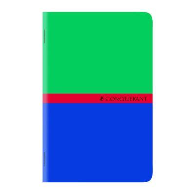 Carnet Conquérant 7 - 9 x 14cm - 96 pages - petits carreaux