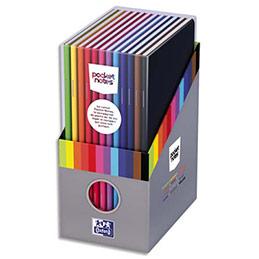 Boîte cadeau Oxford de 12 carnets Pocketnotes agrafé - 9 x 14 cm - 48 pages - ligné 6 mm (photo)