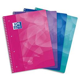 Cahier oxford european book lagoon couverture polypropyl ne spiral 23 x 29 7 cm 160 - Cahier oxford office book ...