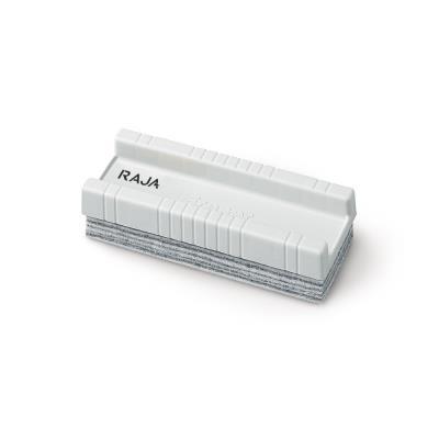 Brosse pour tableau blanc avec lamelles détachables - plastique - gris (photo)