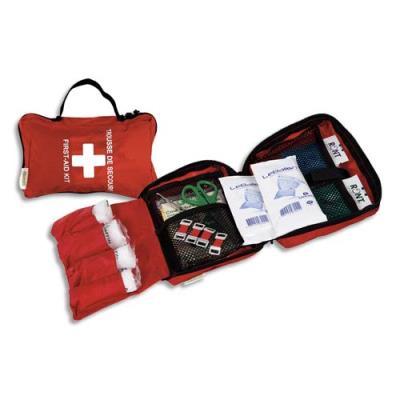Trousse premiers secours spécial véhicules pour 1 à 4 personnes (photo)