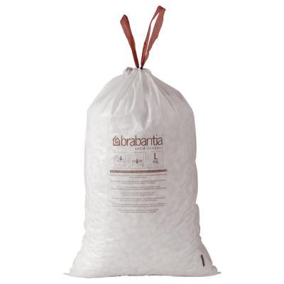 Sac poubelle blanc - 5 L - rouleau de 20 sacs