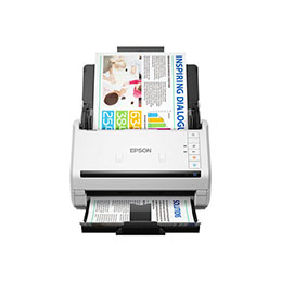 Epson WorkForce DS-770 - Scanner de documents - Recto-verso - A4 - 600 dpi x 600 dpi - jusqu'à 45 ppm (mono) / jusqu'à 45 ppm (couleur) - Chargeur automatique de documents (100 feuilles) - jusqu'à 5000 pages par jour - USB 3.0 (photo)