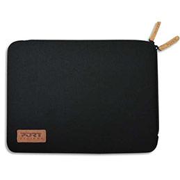 Folio Port torino coton/néoprene noir 13,3/14'' (photo)