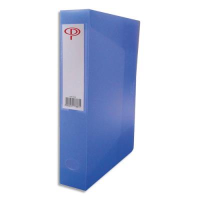Boîte de classement 5 Etoiles - dos de 8 cm - en polypropylène 7/10e - bleu (photo)