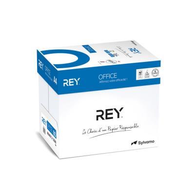 Papier A4 blanc 80g éco-responsable Rey Office - boîte de 2500 feuilles (photo)