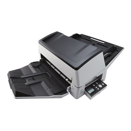 Fujitsu fi-7600 - Scanner de documents - Dual CCD - Recto-verso - 304.8 x 431.8 mm - 600 dpi x 600 dpi - jusqu'à 100 ppm (mono) / jusqu'à 100 ppm (couleur) - Chargeur automatique de documents (300 feuilles) - jusqu'à 30000 pages par jour - USB 3.1 Gen 1 (photo)