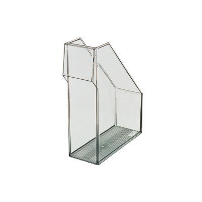 Porte-revues Leitz Lagoon - dos 9,9 cm - coloris cristal transparent