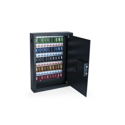 Armoire à clés haute sécurité en acier serrure à combinaison électronique Pavo - 50 clés - gris anthracite