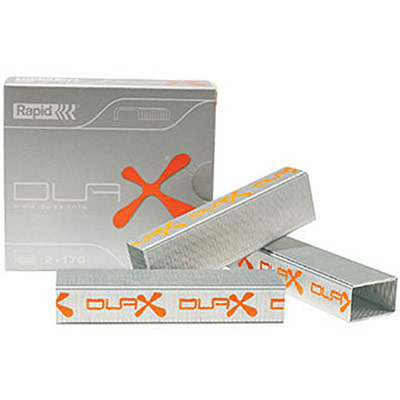 Agrafes - pour agrafeuse brocheuse Rapid Duax - boîte de 1000