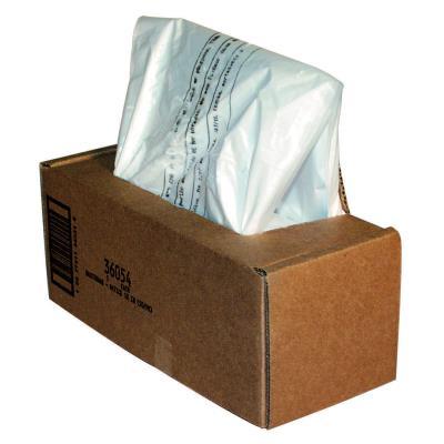 Sacs Fellowes pour destructeurs de documents de 53 à 75 litres - paquet de 50 sacs (photo)