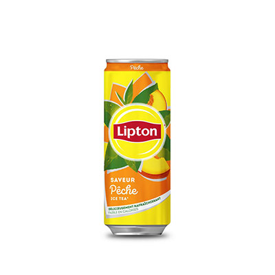 Lipton Ice Tea pêche - canette de 33cl (photo)
