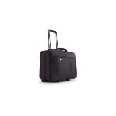 Trolley en nylon Case Logic - pour PC de 14 à 18'' - compartient vêtements - L46 x H40,4 x P23,6 cm - noir