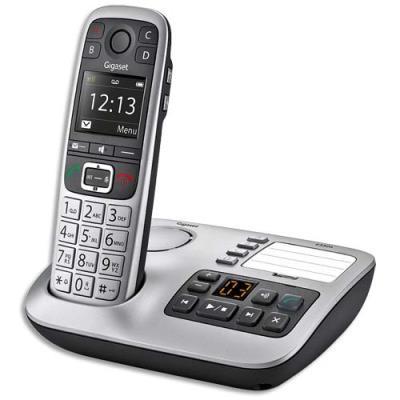 Téléphone sans fil Gigaset solo E560A - silver (photo)