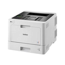 Brother HL-L8260CDW - Imprimante - couleur - Recto-verso - laser - A4/Legal - 2400 x 600 ppp - jusqu'à 31 ppm (mono) / jusqu'à 31 ppm (couleur) - capacité : 300 feuilles - USB 2.0, Gigabit LAN, Wi-Fi(n), hôte USB (photo)