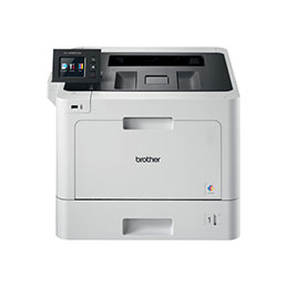 Brother HL-L8360CDW - Imprimante - couleur - Recto-verso - laser - A4/Legal - 2400 x 600 ppp - jusqu'à 31 ppm (mono) / jusqu'à 31 ppm (couleur) - capacité : 300 feuilles - USB 2.0, Gigabit LAN, Wi-Fi(n), hôte USB, NFC (photo)