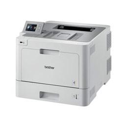 Brother HL-L9310CDW - Imprimante - couleur - Recto-verso - laser - A4/Legal - 2400 x 600 ppp - jusqu'à 31 ppm (mono) / jusqu'à 31 ppm (couleur) - capacité : 300 feuilles - USB 2.0, Gigabit LAN, Wi-Fi(n), hôte USB, NFC (photo)