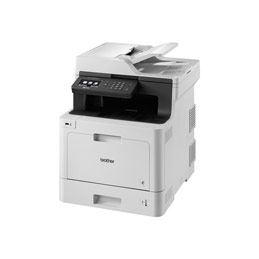 Brother MFC-L8690CDW - Imprimante multifonctions - couleur - laser - 215.9 x 355.6 mm (original) - A4/Legal (support) - jusqu'à 31 ppm (impression) - 300 feuilles - 33.6 Kbits/s - USB 2.0, Gigabit LAN, Wi-Fi(n), hôte USB (photo)