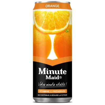 Jus de fruits Minute Maid orange - canette de 33 cl (photo)