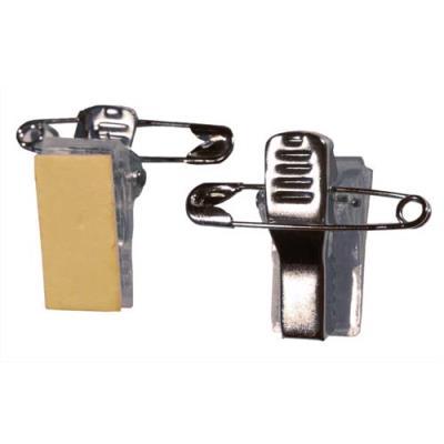 Clip Adhésif Evolis métal/Pince pour Badgy 100/200 - pack de 100 (photo)