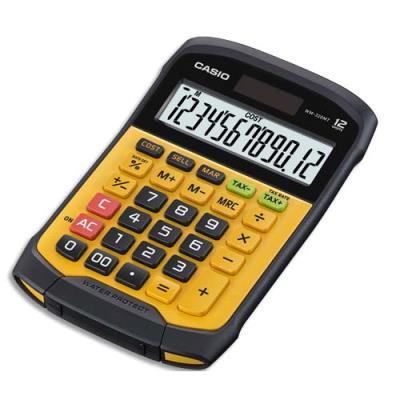 Calculatrice mini bureau Casio WM-320MT - étanche eau et poussiere - 12 chiffres