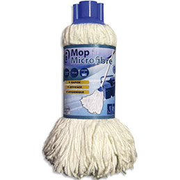 Mop Jupe microfibre double fonction 40 cm (photo)