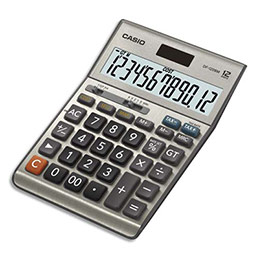 Calculatrice de Bureau Casio DF-120BM - 12 chiffres (photo)