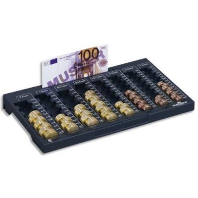 Planche de comptage Euroboard Durable - 8 compartiments pièces/1rangement billets (photo)