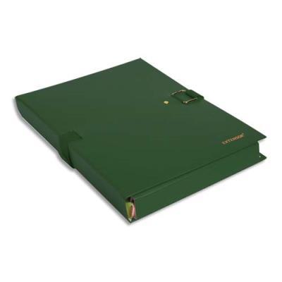 Chemise extensible Extensor® de Claircell - dos 10 cm - coloris vert finition imitation cuir