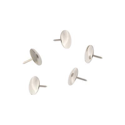 Boîte de 120 punaises - coloris métal - paquet 120 unités