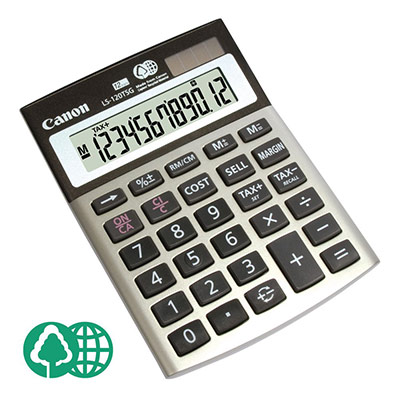 Calculatrice de bureau Canon LS-120tsg (photo)