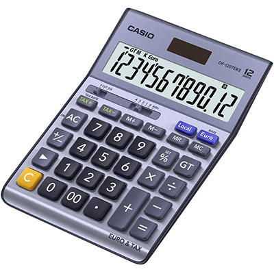 Calculatrice de bureau DF-120TER (photo)