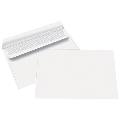 Enveloppes 162x229 1er prix - blanches - autocollantes - 80g - boîte de 500