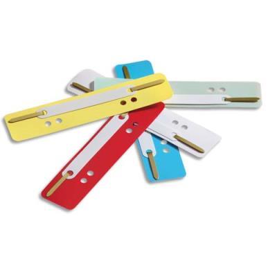 Attaches perforées Durable - coloris assortis - sachet de 25 attaches perforées