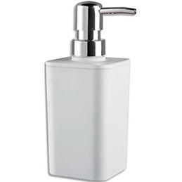 Distributeur de savon à poser Rossignol - en polypropylène - L7 x H17 x P7 cm (photo)