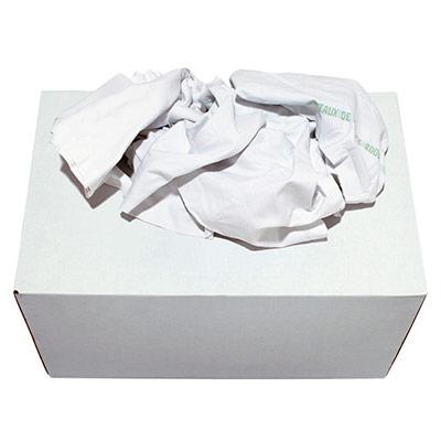 Boîte distributrice Chiffon textile blanc supérieur - boîte de 10 kg (photo)