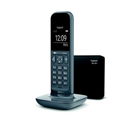 Téléphone sans fil CL390A répondeur - gris foncé (photo)