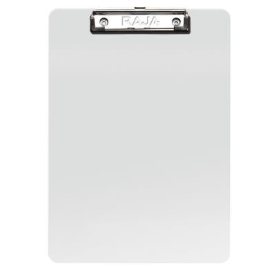 Porte-documents avec clip en métal - PVC - 250 feuilles - 235 x 355 mm - transparent