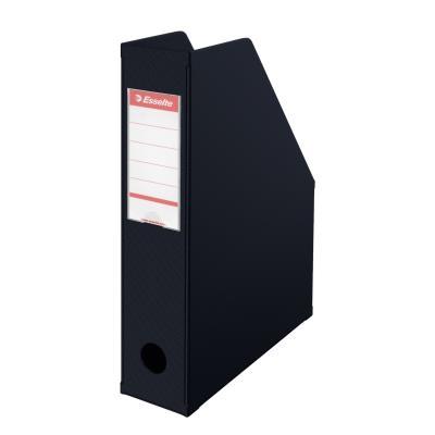 Porte-revues Esselte Confort Class dos 7 cm - noir