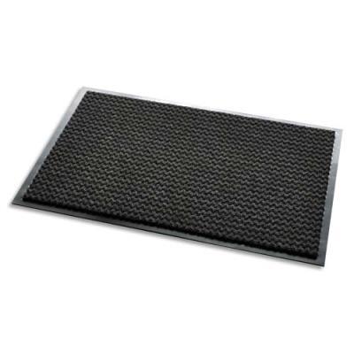 Tapis d'accueil Aqua 65+ - polypropylène et polyamide - 90 x 60 cm - trafic intense - noir (photo)