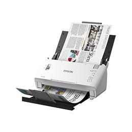 Epson WorkForce DS-410 - Scanner de documents - Recto-verso - A4 - 600 dpi x 600 dpi - jusqu'à 26 ppm (mono) / jusqu'à 26 ppm (couleur) - Chargeur automatique de documents (50 feuilles) - jusqu'à 3000 pages par jour - USB 2.0 (photo)