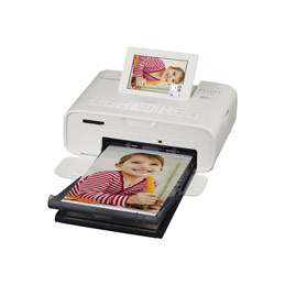 Canon SELPHY CP1300 - Imprimante - couleur - thermique par sublimation - 148 x 100 mm jusqu'à 0.78 min/page (couleur) - USB, hôte USB, Wi-Fi - blanc (photo)