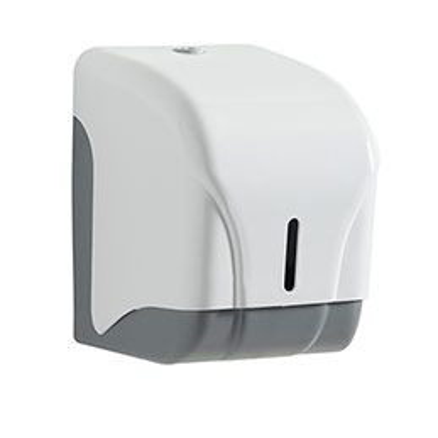 Distributeur de papier toilette Oléane - pour 1 rouleau ou 2 paquets (photo)
