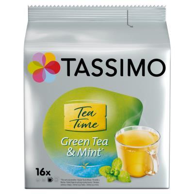 Sachet de 16 dosettes pour Tassimo Thé Vert Twining's (photo)