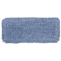 Frange coton à languette pour support mixte bi power lavage à plat (photo)