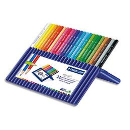 Crayons de couleurs Ergosoft - boîte de 24 (photo)