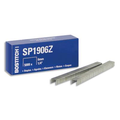 Agrafes SP191/4 - bleu - boîte de 5000