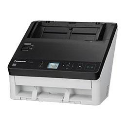 Panasonic KV-S1028Y-U - Scanner de documents - Recto-verso - A4/Legal - 600 dpi - jusqu'à 45 ppm (mono) / jusqu'à 45 ppm (couleur) - Chargeur automatique de documents (100 feuilles) - jusqu'à 6000 pages par jour - Gigabit LAN, USB 3.1 Gen 1 (photo)