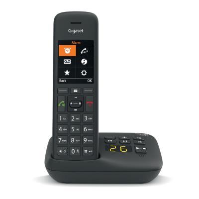 Téléphone sans fil C575A avec répondeur Gigaset - noir (photo)