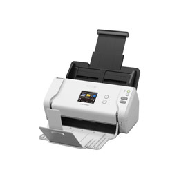 Brother ADS-2700W - Scanner de documents - Recto-verso - A4 - 600 dpi x 600 dpi - jusqu'à 35 ppm (mono) / jusqu'à 35 ppm (couleur) - Chargeur automatique de documents (50 feuilles) - USB 2.0, LAN, Wi-Fi(n), USB 2.0 (Host) (photo)